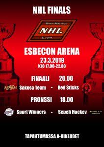 Lauantaina laitetaan nippuun kolmas sarjakausi NHL Finals -tapahtumassa